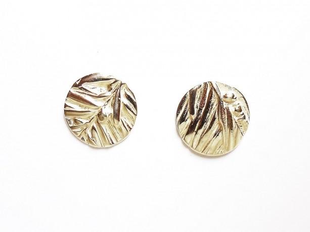 Sterling juniper post earrings