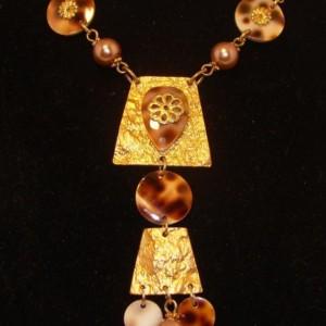 Leopardprint necklace