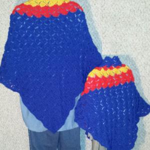 Cuddle Set Shawls: Superhero
