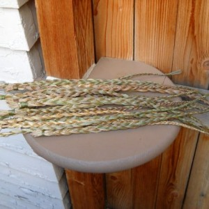 Organic Sweetgrass Braids from Kansas - 14 available