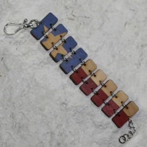 Texas Flag Bracelet