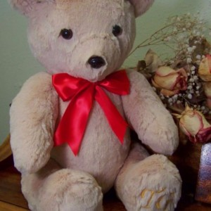 Theodore Bear - Handmade teddy bear