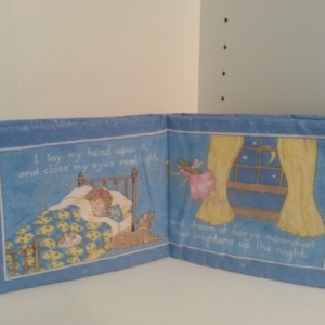 Tooth Fairy Cloth Book and Pillow
