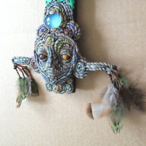 Totem Wall Sculpture