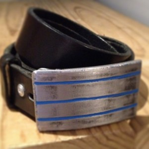 Tre Belt Buckle by Cascade Metal Design