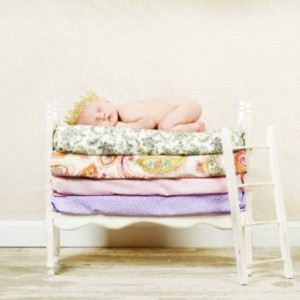 Small Whimsical Boy or Girl Photography Prop Newborn Twins Posing Bunk Bed Mattresses - DIY Stackable Doll Beds with Ladder