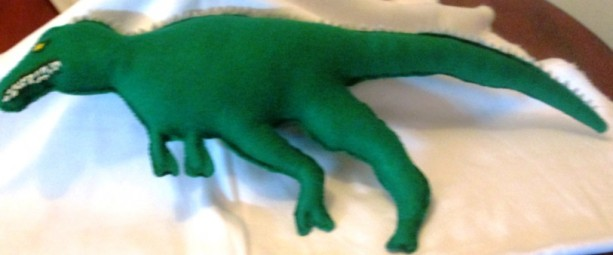soft real looking dinosour