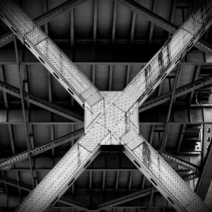 Under the Bridge - 12 x 18 inch print