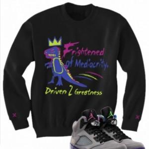 Untuckt- Frightened Sweatshirt Matches Jordan 5 Bel Airs Hoody