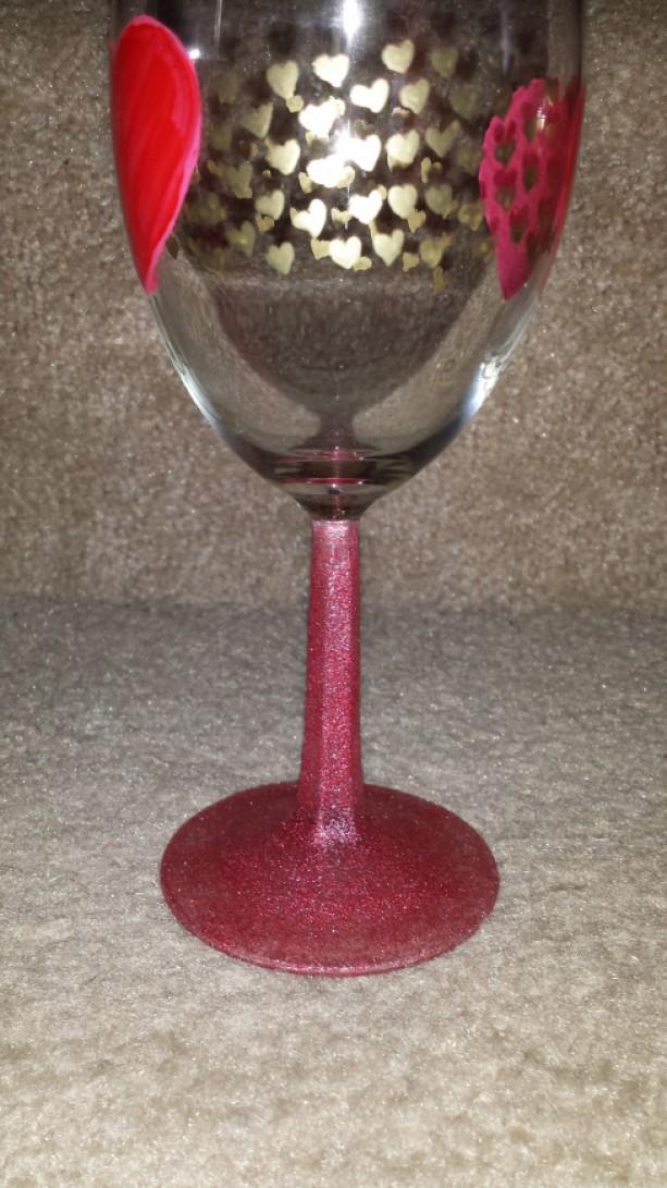 valentine wine glass set - Valentine Wine Glasses