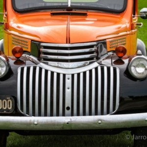 Classic Chevrolet Pickup - Wall Decor - 8 x 12 Print