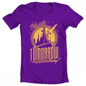 "Girls' Tomorrowland ""Visit Tomorrow"" Tee"