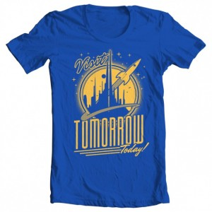 "Boys' Tomorrowland ""Visit Tomorrow"" Tee"