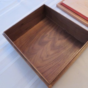 Black Walnut with Curly Maple