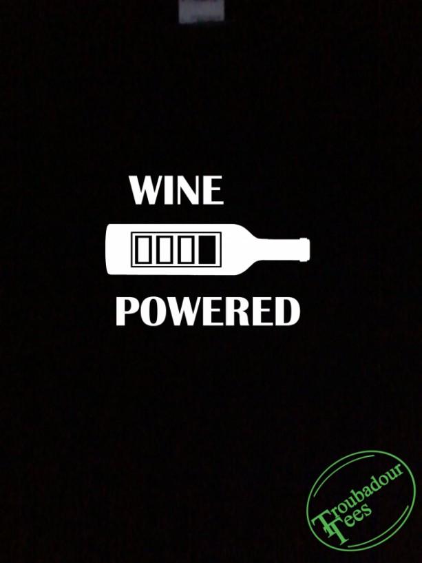 Wine Powered T-Shirt