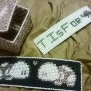 3 Piece Needlepoint Turtle Set