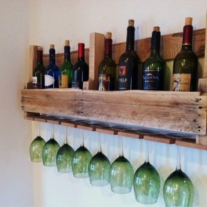 The Great Lakes Wine Rack Light Wood Design