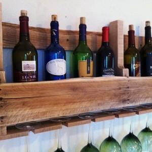 The Great Lakes Wine Rack Light Wood Design