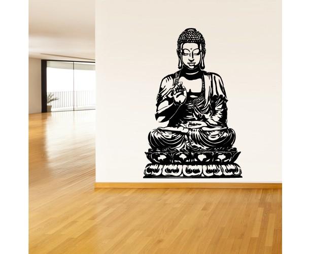 Wall Decal Vinyl Sticker Decals Buddha India Indian Om Ganesh God Yoga (Z1377)